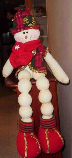 Muñeco de nieve Albondiga Cute Snowman, Snowman Crafts, Christmas Time, Merry Christmas, Xmas, The Birth Of Christ, Christian Christmas, Joy To The World, Christmas Decorations