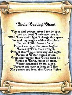 Circle Casting Chant