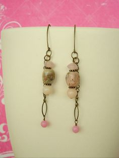 Boho Southwest Earrings Bohemian Jewelry Tribal Art by BohoStyleMe