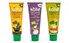Ecotone UK has announced the launch of new convenient squeezable stock paste tubes under its natural #food brand, Kallø, to add to its existing stock range. #packaging