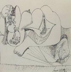 Juxtapoz Magazine - Pablo Picasso Erotic Sketches