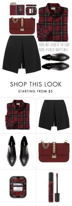 """""""I find pieces of you in every song i listen to..."""" by perfectharry ❤ liked on Polyvore featuring Wallace, Alexander McQueen, Valentino and Royce Leather"""