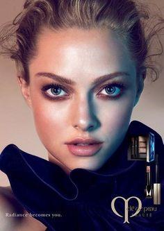 amanda seyfried cle de peau beaute 2014 campaign1 Amanda Seyfried Stuns in New Clé de Peau Beauté Ads