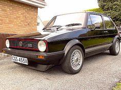 Original Mk1 Golf Gti 1600cc 1982 Excellent Condition... Black - http://www.vwgticarsforsale.com/original-mk1-golf-gti-1600cc-1982-excellent-condition-black/