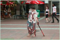 In Pictures: The 2013 Cape Town Zombie Walk, Part 2 Zombie Walk, Cape Town, Zombies, Mysterious, Kimono Top, Walking, Culture, Pictures, Tops