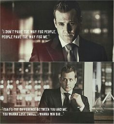 If I could bring one tv character to life.... Harvey would be it.
