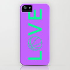 Basketball Love iPhone & iPod Case