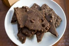 Brownie Bark :: i just tried Sheila G's #browniebrittle and promptly got on the net to hopefully find a recipe. this is #browniecrack!  lol dangerous!