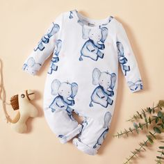 * Material: 95% Polyester, 5% Spandex * Machine wash, tumble dry #baby #newborn #babyfashion #toddler #toddlerfashion #kidsfashion Baby Clothes Online, Baby Clothes Shops, Babies Clothes, Family Outfits, Girl Outfits, Cool Gadgets To Buy, Jumpsuits For Girls, Baby Outfits Newborn, Baby Newborn
