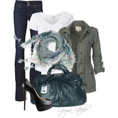 """""""Lovely Scarf"""" by orysa on Polyvore"""
