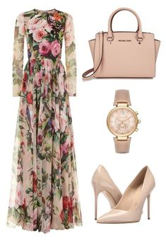 """Untitled #95"" by enaleille on Polyvore featuring Dolce&Gabbana, Massimo Matteo and Michael Kors"