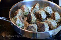 Boulets liégeois brown cookingwithcurls.com