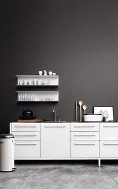 Vipp kitchen and shelves Little Helsinki