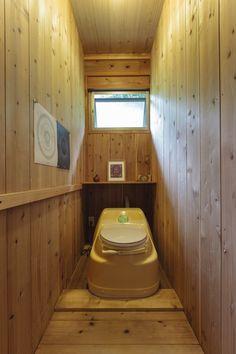 コンポストトイレ Tiny House, Toilet, Bathroom, Washroom, Flush Toilet, Full Bath, Tiny Houses, Toilets, Bath