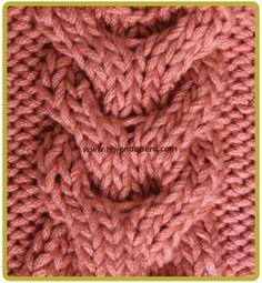 Galeria de puntos 4: Trenzas, ochos, cuerdas - Tejiendo Perú Cable Knitting Patterns, Knitting Basics, Baby Cardigan Knitting Pattern, Knitting Stiches, Lace Knitting, Knit Slippers Free Pattern, Knit Headband Pattern, Knitted Slippers, Knitted Headband