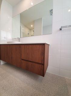 Beautiful Timber Finish Vanity Home Builders, Vanity, Cabinet, Bathroom, Luxury, Storage, Building, Furniture, Beautiful