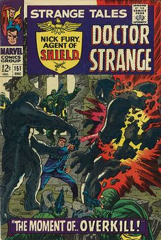 Strange Tales nick fury shield comic book cover art by Jim Steranko Marvel Comic Books, Comic Books Art, Comic Art, Silver Age Comics, Comic Book Artists, Comic Book Characters, Strange Tales, Dr Strange, Superman