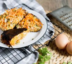 Tortilla de zanahoria fácil | En Mi Cocina Hoy Veggie Recipes, My Recipes, Cooking Recipes, Healthy Recipes, Carrot Dishes, Chilean Recipes, Frittata, Finger Foods, The Help
