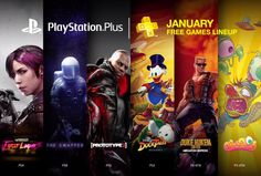 Sony reveals the free PlayStation games it's giving away in January – here are the details click here:  http://infobucketapps.com