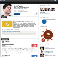 "Did you try the new Linked-In profile page ? It Brings Sexy Back To Business, says ""Digital Marketer"" !"