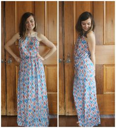 really like this maxi dress if it comes in a relatively short length modern garden: stitch fix