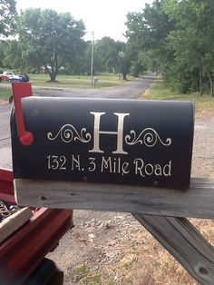 Hey, I found this really awesome Etsy listing at https://www.etsy.com/listing/156397825/mailbox-address-personalized