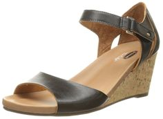 Dr. Scholl's Women's Lilah Wedge Sandal * To view further for this item, visit the image link.