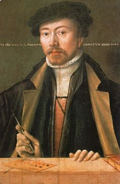 Ludger Tom Ring the Younger, Self-portrait, 1547