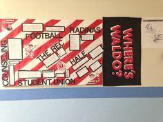 Where's Waldo?/ Places Around Campus Bulletin Board