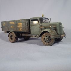 "Opel ""Blitz"" Old Italeri kit. Scale 1/35. Model by BM."