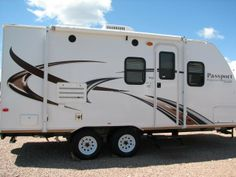 2013 #KEYSTONE PASSPORT 199ML Located on I-90 in Summerset, South #Dakota, in between #RapidCity and #Sturgis. #Campers & #RV
