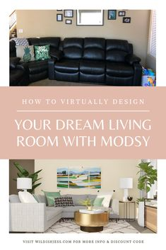 How to Virtually Design Your Dream Living Room with Modsy Design Your Own Home, Build Your Dream Home, Home Hacks, Smart Home, Baby Sleep, Home Organization, Attachment Parenting, Dreaming Of You, Home Improvement