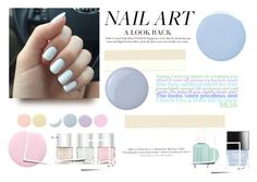 """""""Pastel nails"""" by gelykou ❤ liked on Polyvore featuring beauty, Deborah Lippmann, Nails Inc., Butter London, Essie, H&M and pastelnails"""