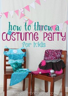 How to throw a Costume Party Playdate idea - it can really be SO simple and provide kids a great experience as they play! Check out these crafts, activity ideas, and story time suggestions! #client