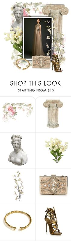 """Ancient Rome"" by galileedreams on Polyvore featuring Aidan Gray, Romanelli, Pier 1 Imports, Forever Unique, Boodi and Giuseppe Zanotti"