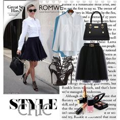 Romwe 6/II by merima-p on Polyvore featuring Giuseppe Zanotti, Chanel and Kerr®