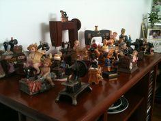 A coleção da vó Dorothy!!