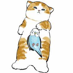 Kawaii Art, Kawaii Anime, Tom And Jerry Wallpapers, Kitten Drawing, Cute Cat Illustration, Cat Party, Cute Animal Drawings, Diy Canvas Art, Furry Art