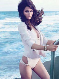 Jessica Biel Stars in a Sultry Editorial for W Magazine April 2012 trendhunter.com