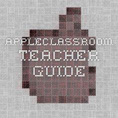 AppleClassroom Teacher Guide
