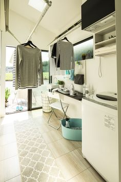 Laundry Room Design, Home Room Design, House Design, Laundry Room Inspiration, Home Decor Inspiration, Laundry Shop, Drying Room, House Rooms, New Homes