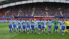 Man City Line Up in Thomond Park