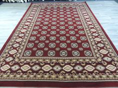 Traditional Turkman Design Rug Size: 290 x Latest Computer Technology, Machine Made Rugs, Carpet Runner, Rugs Online, Rug Size, Bohemian Rug, Colours, Traditional, Stuff To Buy