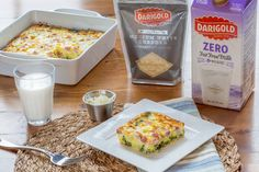How do you get your Morning Protein? It's easy to enjoy 32g of delicious protein with this Easy Egg Casserole and a glass of milk for breakfast. Then enjoy totally crushing it the rest of the day. #MyMorningProtein #milk #cheese #whitecheddar #SayWhiteCheese https://milklife.com/articles/recipe/easy-egg-casserole