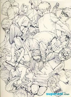 Drawing Sketch by Kim Jung Gi Drawing Sketches, Art Drawings, Character Art, Character Design, Kim Jung, Poses References, Sketchbook Inspiration, Art Graphique, Art And Illustration