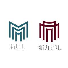 丸ビル、新丸ビルのロゴ:相似点と相違点 | ロゴストック