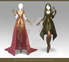 Here is Fantasy Outfit Ideas for you. Fantasy Outfit Id. Dress Drawing, Drawing Clothes, Outfit Drawings, Fashion Design Drawings, Fashion Sketches, Anime Outfits, Character Outfits, Character Art, Character Costumes