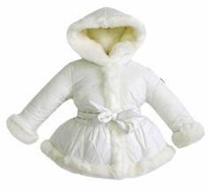 widgeon girls coats white