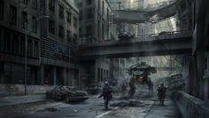 BadASS post-apocalypsic street sweep...