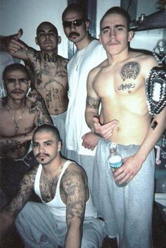 scary looking tough cholo's